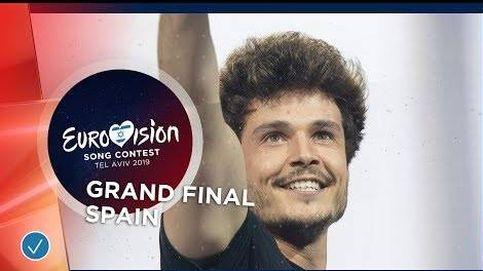 La actuación de Miki ('La Venda') en la final de Eurovisión 2019.