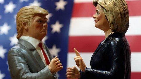 Trump se enfrenta hoy a Clinton en un último debate envuelto en polémicas