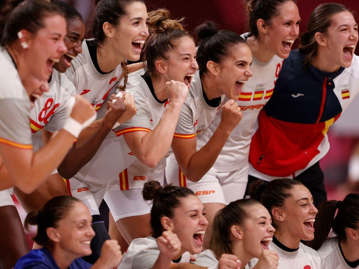 Foto: Selección española de balonmano femenino. (EFE)