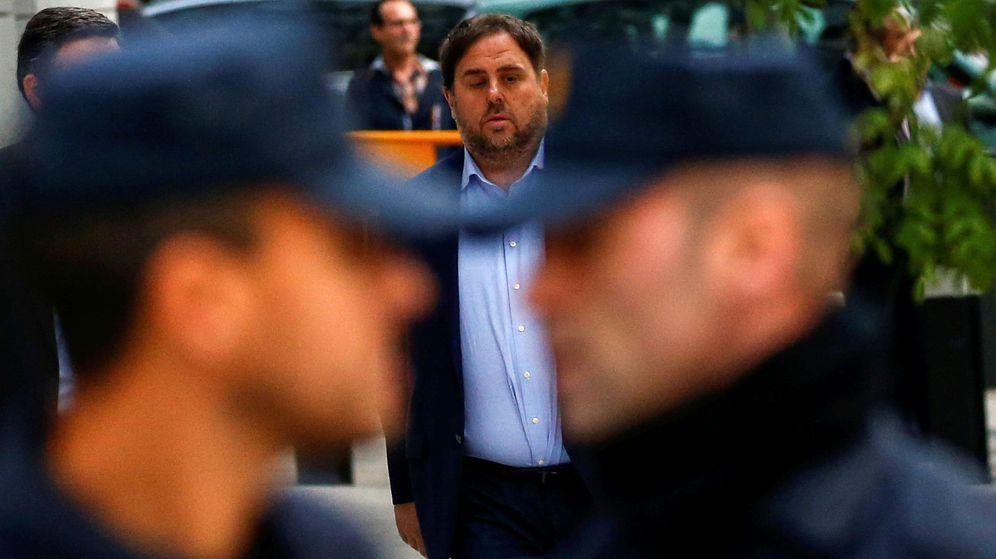 Foto: Oriol Junqueras, antes de su comparecencia ante el Tribunal Supremo. (Reuters)