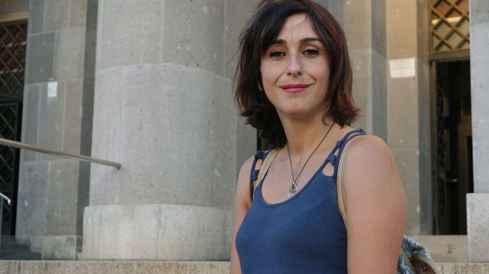 Foto: Juana Rivas, condenada en España a cinco años de prisión por sustracción de menores, en Cagliari (Italia). (EFE)