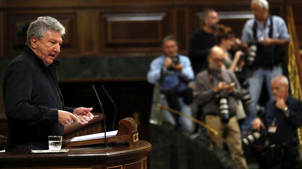 Foto: El diputado de Nueva Canarias, Pedro Quevedo. (EFE)