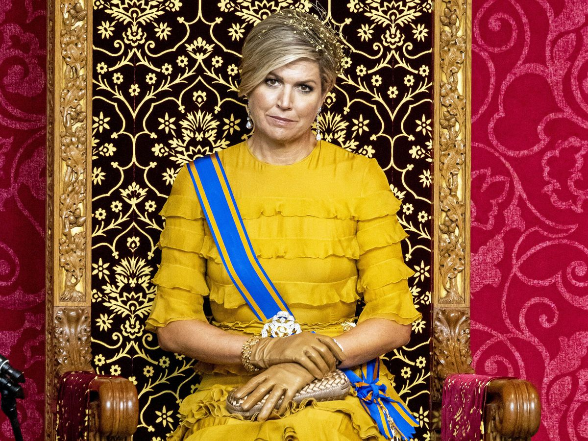 Foto: La reina Máxima, en el Prinsjesdag de 2020. (Getty)