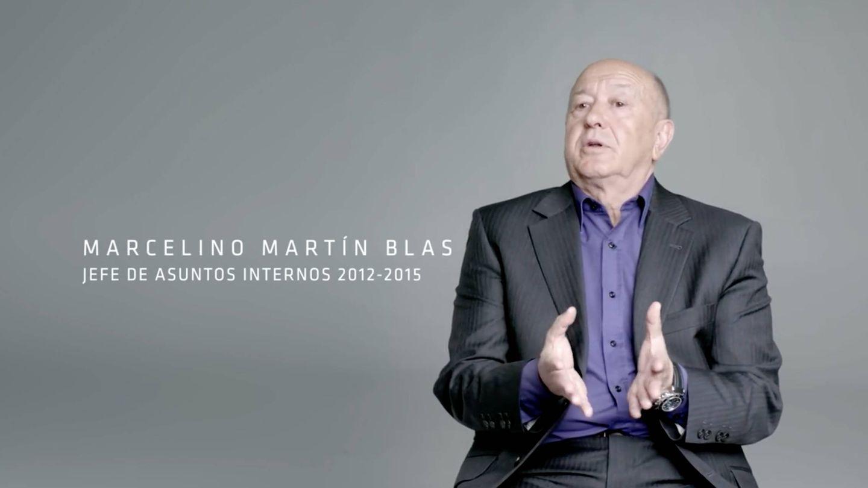Testimonio de Marcelino Martín Blas, jefe de asuntos internos entre 2012 y 2015.