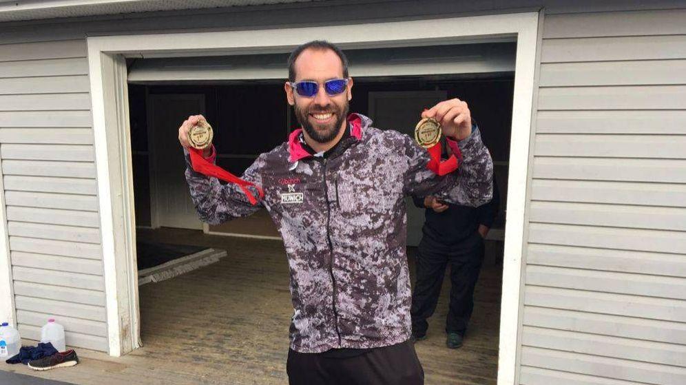Foto: Ander Mirambell, con sus dos medallas
