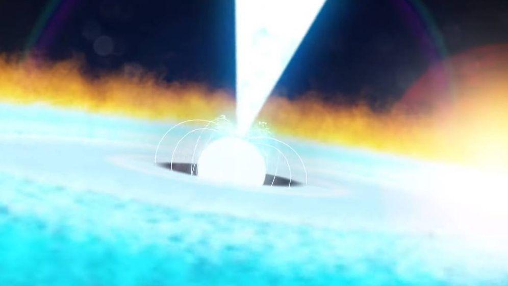Foto: La NASA ha detectado una enorme explosión termonuclear (YouTube)