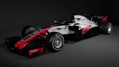 Primer Fórmula 1 de 2018 presentado: así luce el nuevo Haas