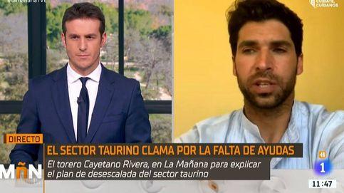 La contundente reivindicación de Cayetano Rivera en 'La mañana' de TVE: Saldré a la calle si hace falta