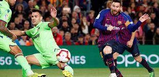 Post de El Barcelona gana la Liga gracias a un solitario gol del de siempre: Leo Messi