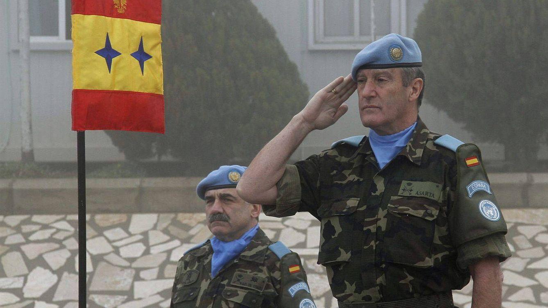 Asarta, héroe de la batalla de Nayaf, general favorito de Chacón y defensor de Franco