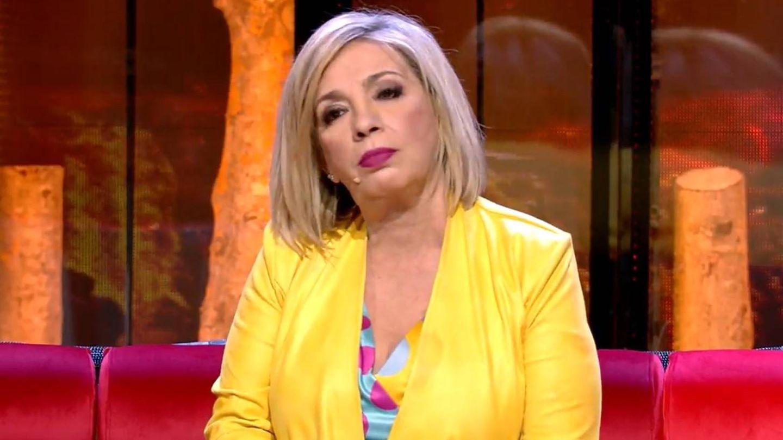 Carmen Borrego, tertuliana del debate de 'Supervivientes 2020'. (Mediaset)