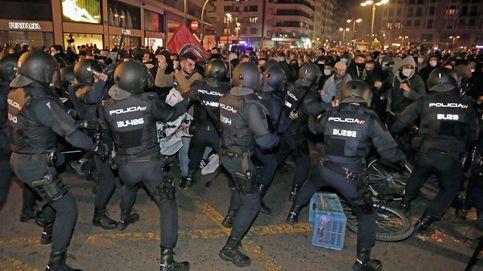 Compromís denuncia la agresión policial a un diputado en la protesta de apoyo a Hasél