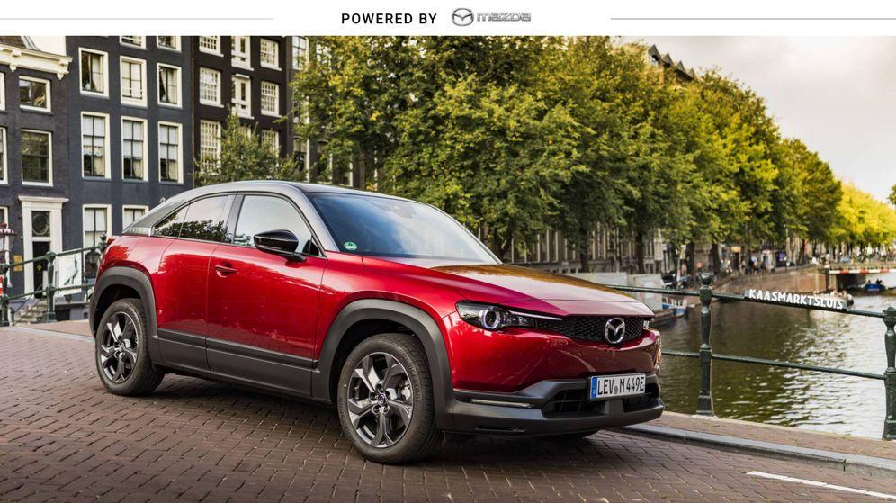 Foto: El MX-30 es el quinto vehículo de Mazda en conseguir la máxima valoración. (Cortesía)