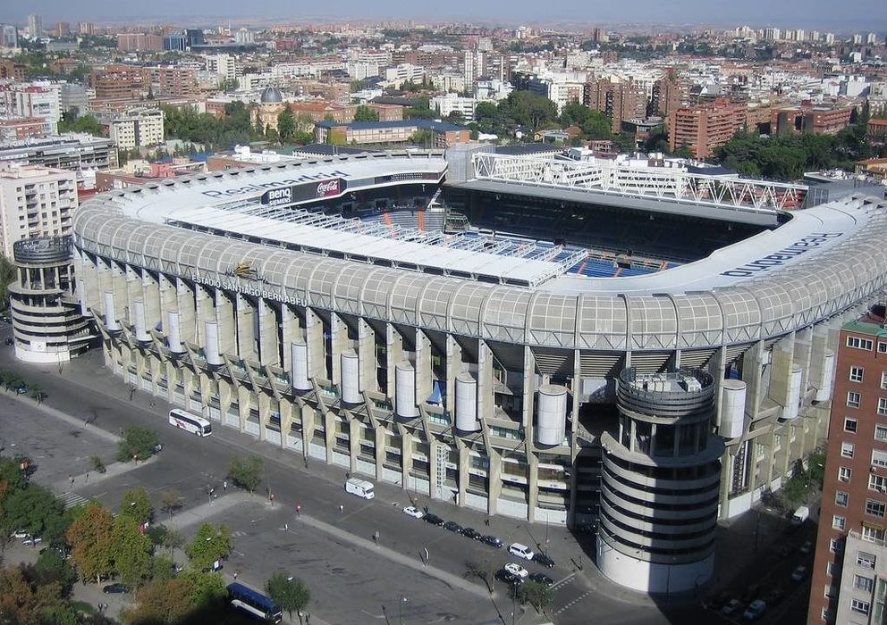 Foto: Imagen del estadio Santiago Bernabéu en la actualidad.
