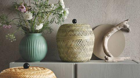 Estas cestas sostenibles de Ikea y Leroy Merlin son ideales para ese rincón de tu casa