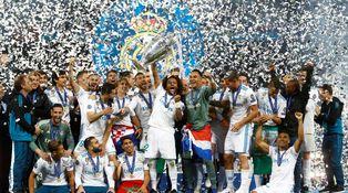El Real Madrid enciende la máquina del tiempo con la Decimotercera Champions
