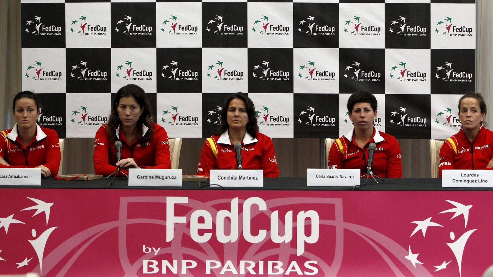 Foto: La selección española ya conoce a su rival en busca del Grupo Mundial (Efe).