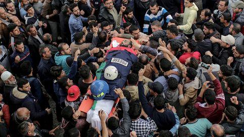 Funeral del periodista fallecido en Gaza