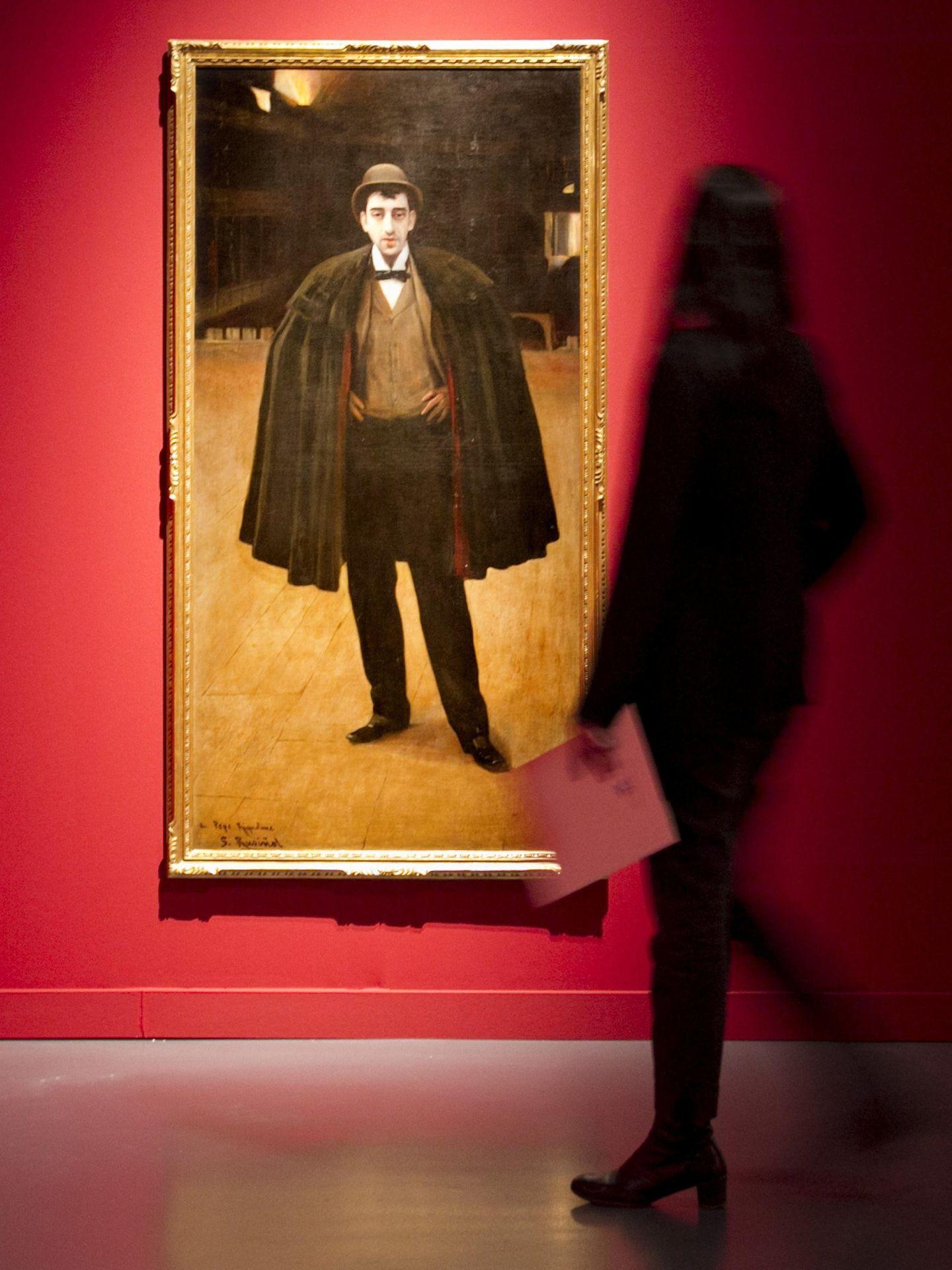 La muestra 'El Greco. La mirada de Rusiñol'. (EFE)