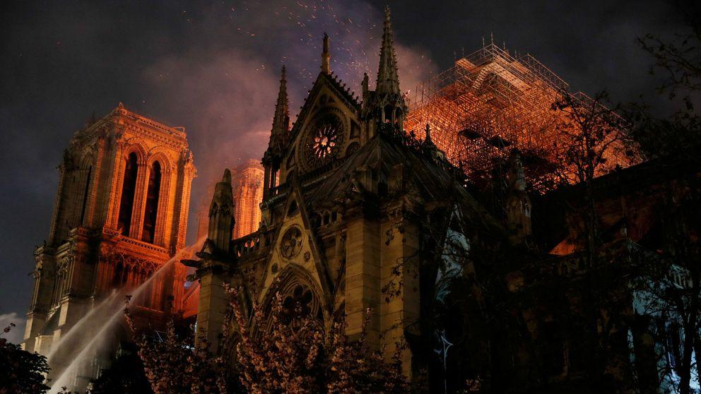 Notre Dame en directo: sigue en 'streaming' el incendio en París