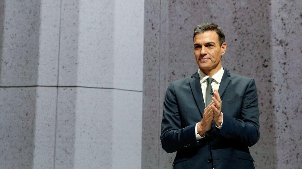 Foto: Sánchez clausura el congreso nacional de la empresa familiar. (EFE)