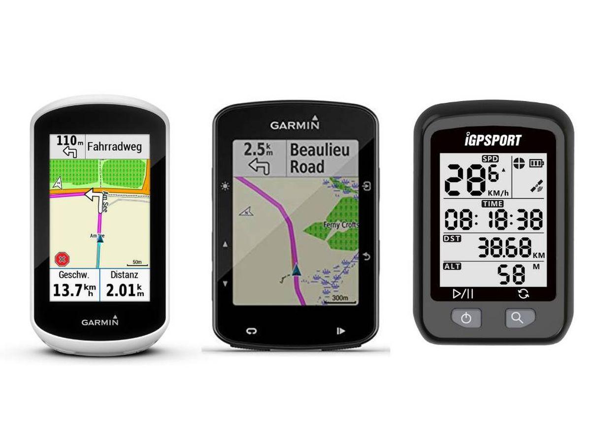 Foto: Ciclocomputadores con GPS para ciclistas