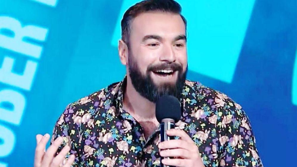 Foto: Rober Bodegas, de Pantomima Full, en una actuación en Comedy Central.