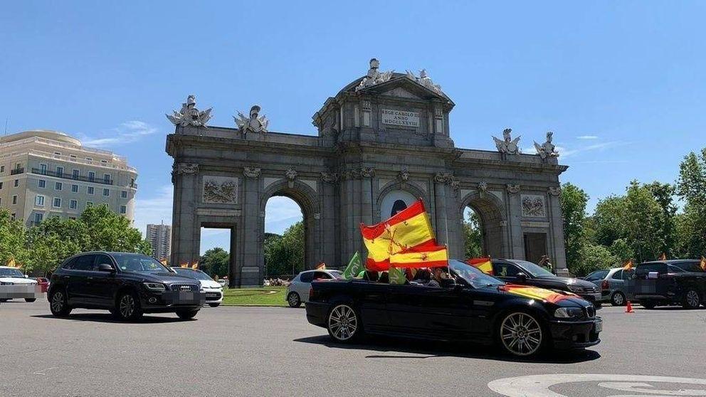 Las protestas y manifestaciones organizadas por Vox colapsan Madrid