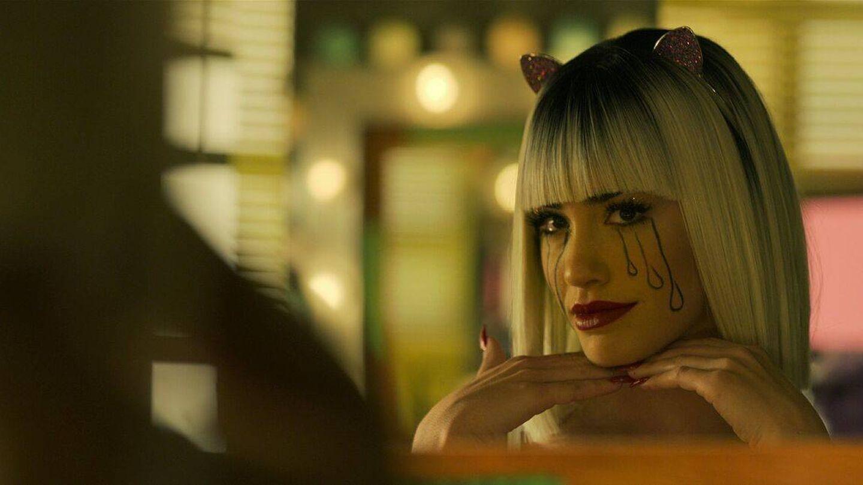 Lali Espósito ayudó a crear este maquillaje con lágrimas de Wendy en 'Sky Rojo'. (Netflix)