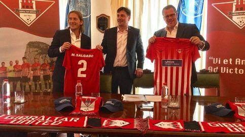 Míchel Salgado ficha por el Gibraltar United: Es el inicio de algo grande