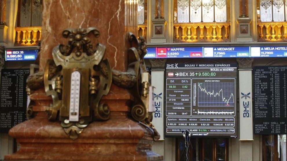 El Ibex 35 se mueve plano, anclado en los 9.900, pendiente de la Fed y del BCE