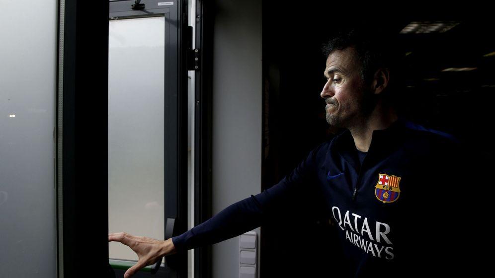 Foto: Rueda de prensa de Luis Enrique. (EFE)