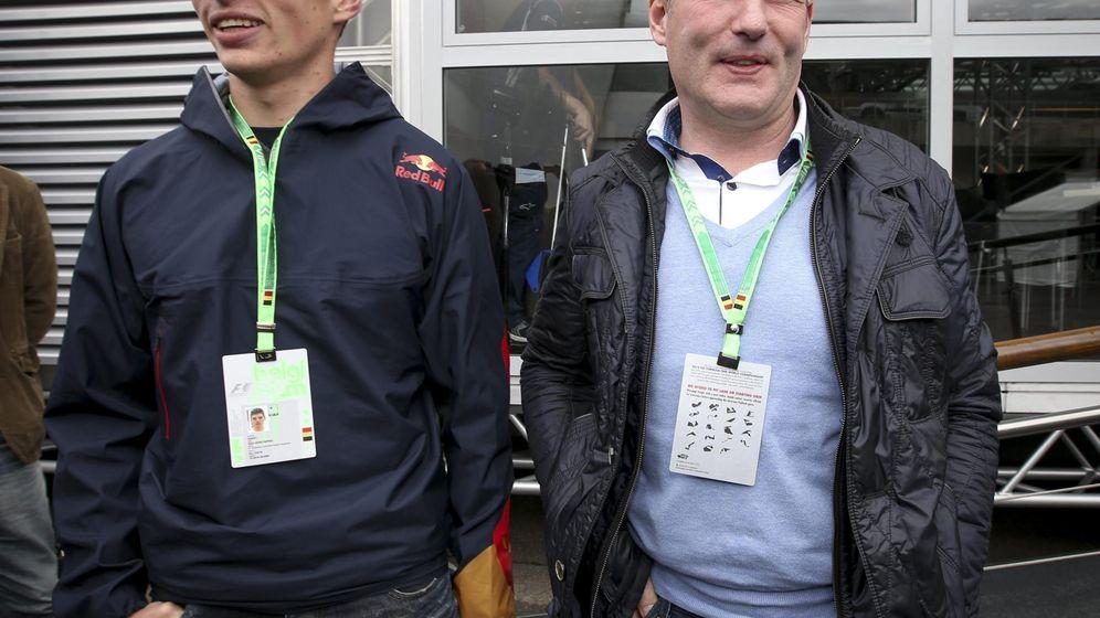 Foto: Max Verstappen y Jos Verstappen(Efe)