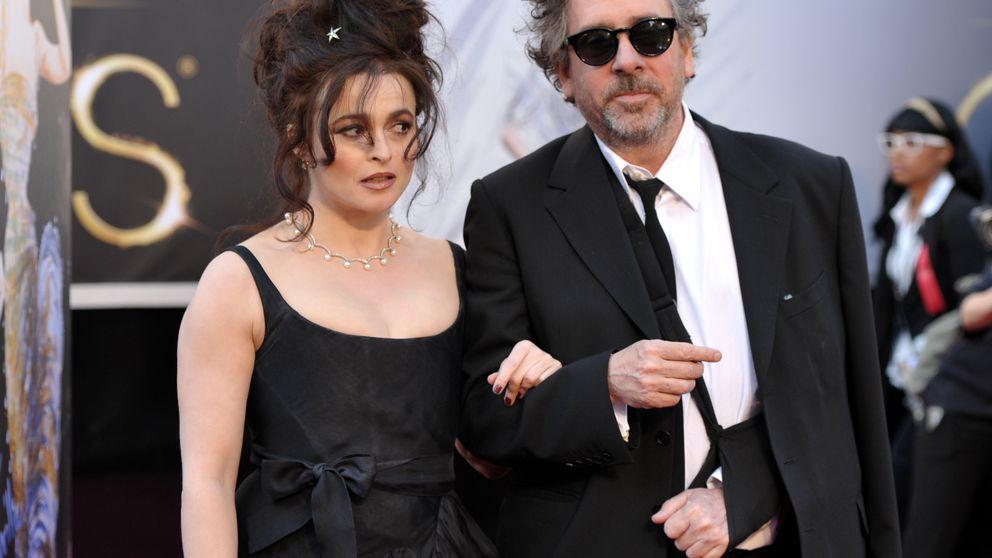 Tim Burton, 'cazado' besando a una rubia a espaldas de su mujer