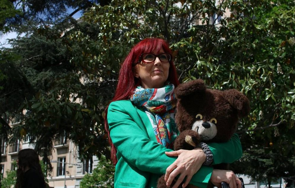 Foto: En la imagen, la exgimnasta Gloria Viseras.