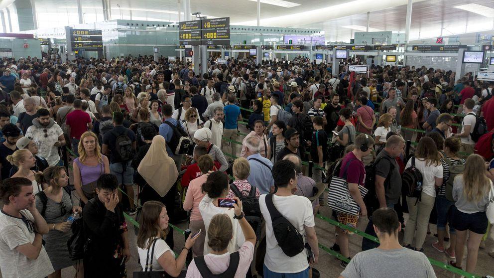 ¿Qué piden los vigilantes mileuristas de Barcelona-El Prat (y no es solo dinero)?