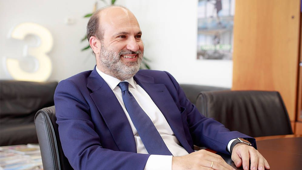 Foto: Javier Bardají, director de Atresmedia Televisión. (Atresmedia)