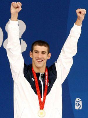 El brazo de Phelps le da la séptima