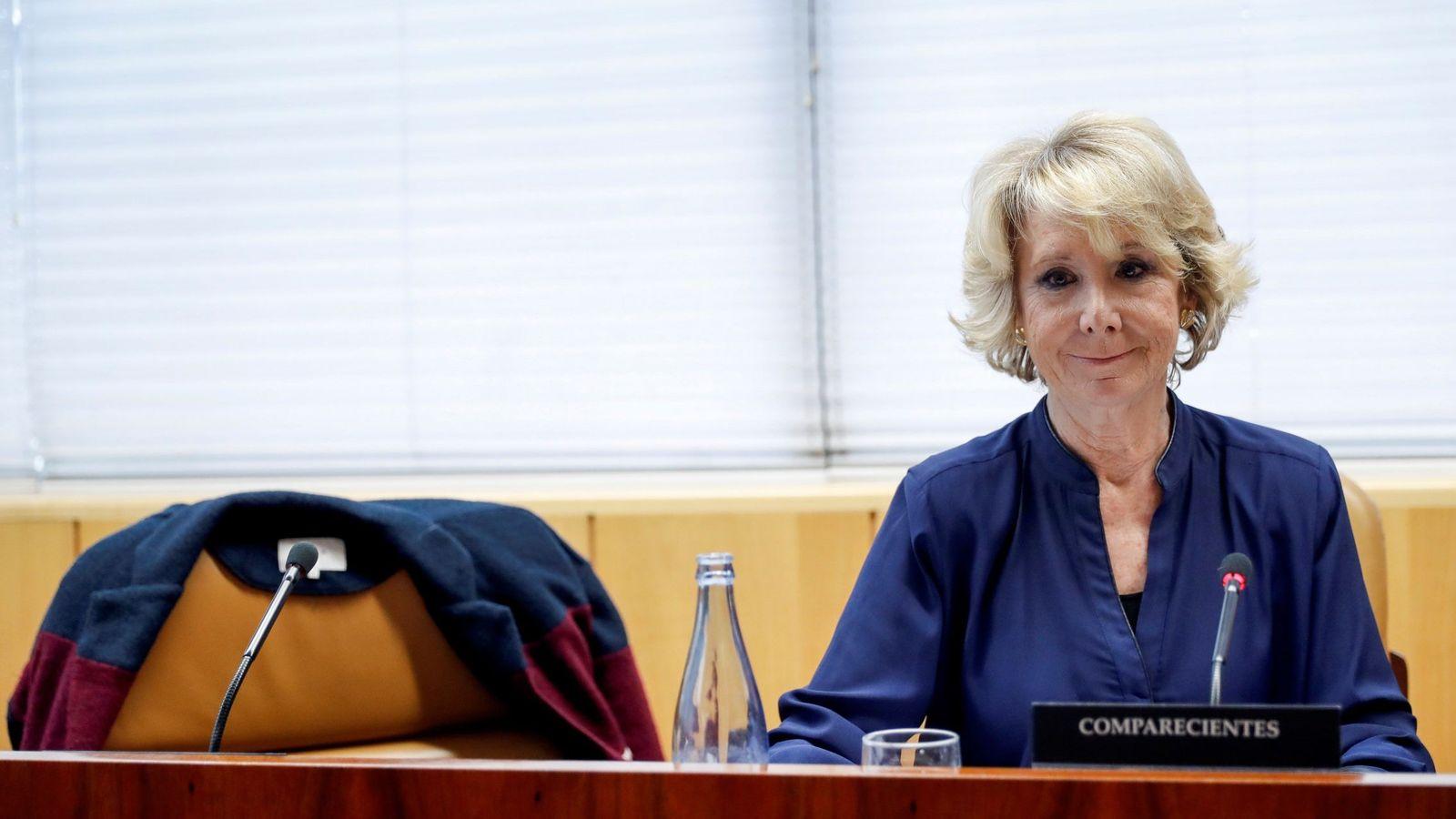 Foto: Aguirre, en la comisión de corrupción