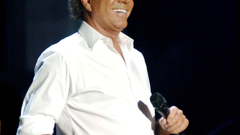 Julio Iglesias en una imagen de archivo.(Getty)