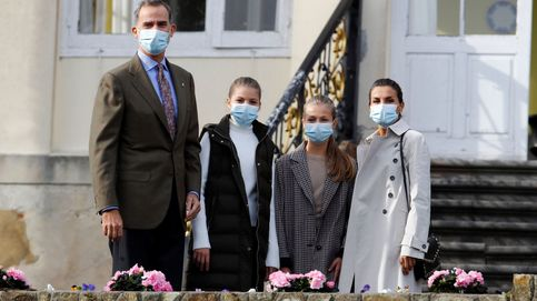 Así son las felicitaciones de Navidad 2020 de Felipe VI, Letizia, sus hijas y los eméritos