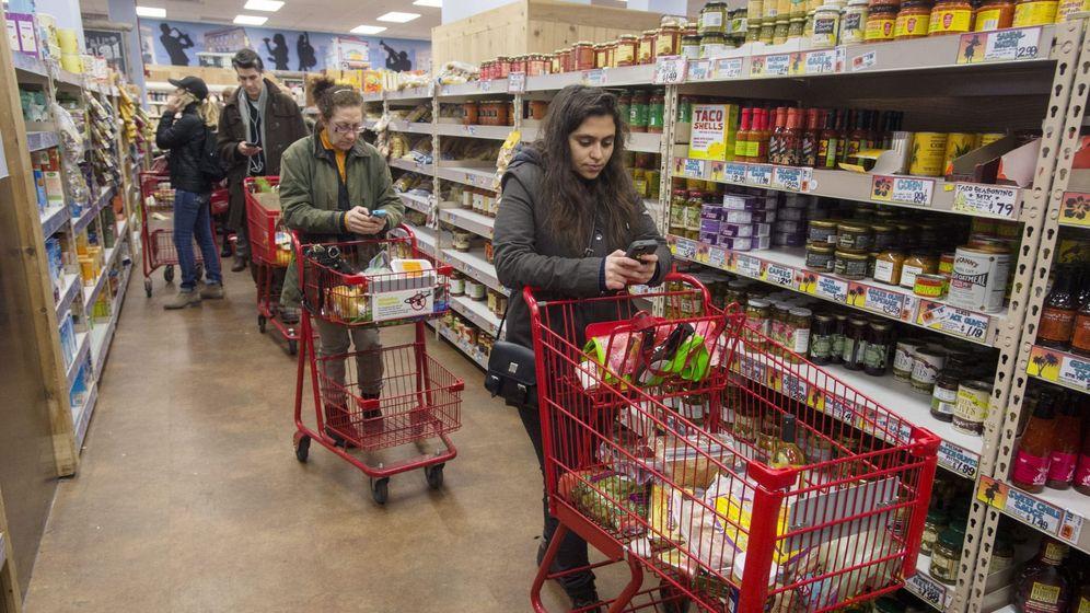 Foto: Los precios subieron de media un 1%. (EFE)