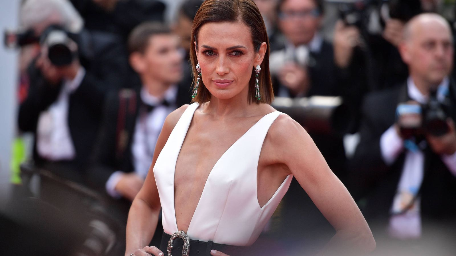 Foto: Nieves Álvarez en Cannes. (Getty)