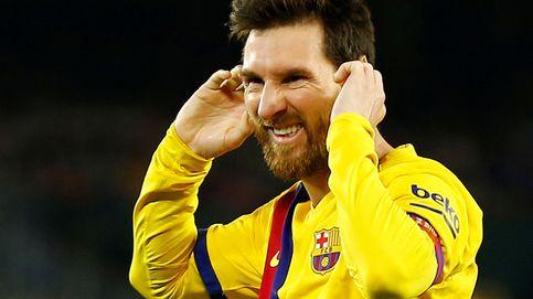 El primer golpe de Quique Setién con el Barcelona... y cuando Messi no se tira