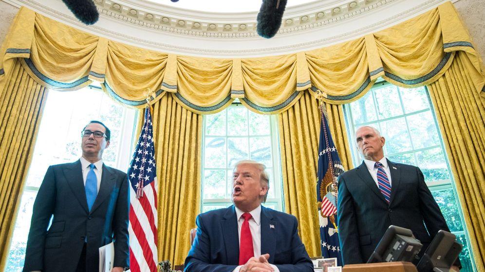 Foto: Trump anuncia sanciones a Irán tras el derribo de un dron. (EFE)