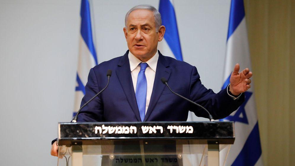 Foto: El primer ministro israelí, Benjamin Netanyahu. (EFE)