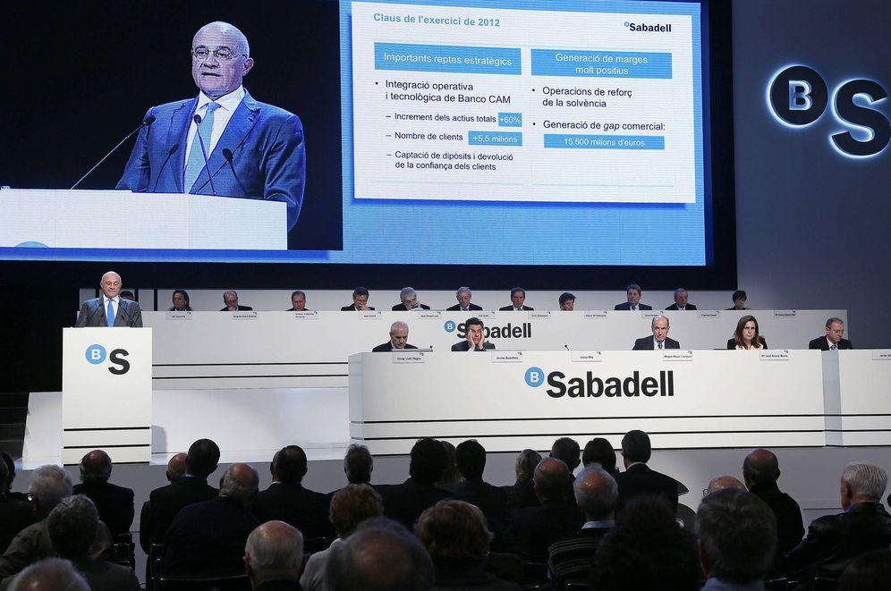 Foto: Junta de accionistas de Banco Sabadell.