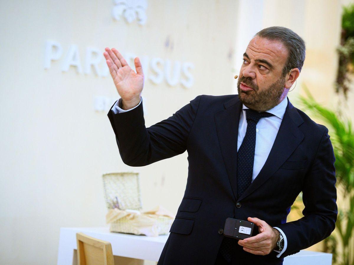 Foto: El CEO de Meliá, Gabriel Escarrer. (EFE)