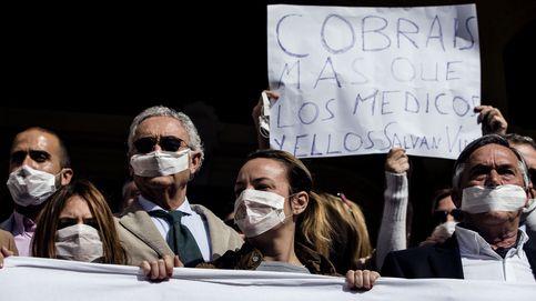 Málaga, huelga de basura y tensión : '¡Alcalde, échalos!'