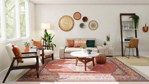 Actualiza el salón de un piso antiguo sin reforma y sin gastar mucho dinero